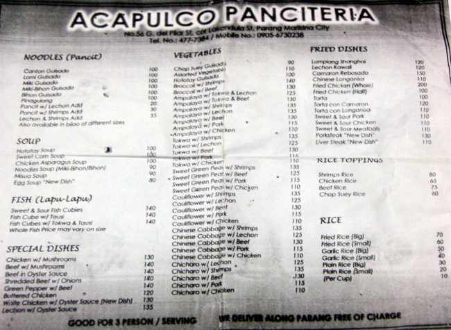 Acapulco Panciteria — Satisfy your hunger thumbnail